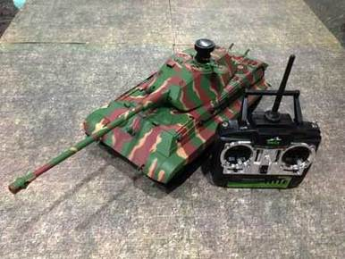 RC Tank Singapore Custom 1/16 RTR RC King Tiger
